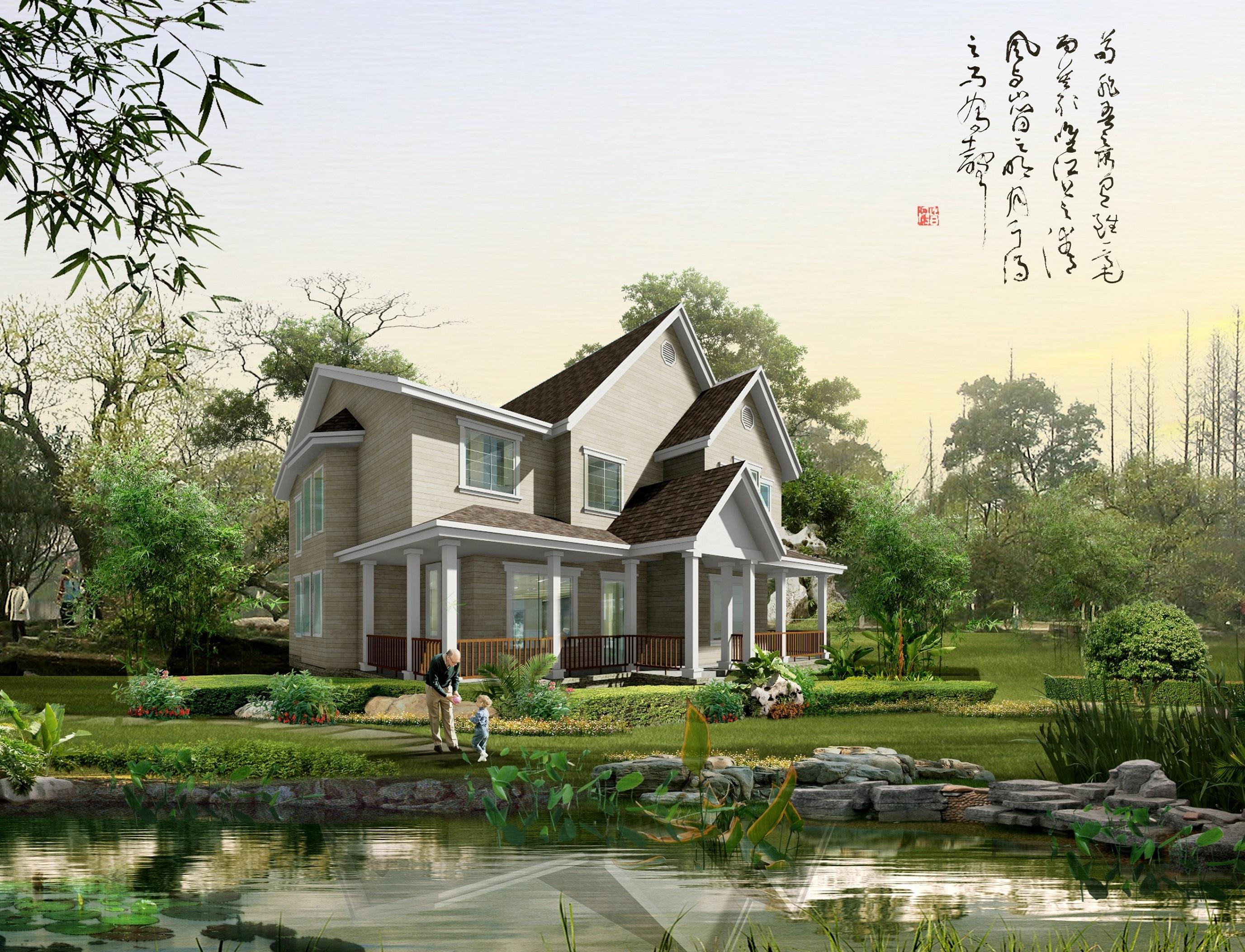 邢台木结构别墅